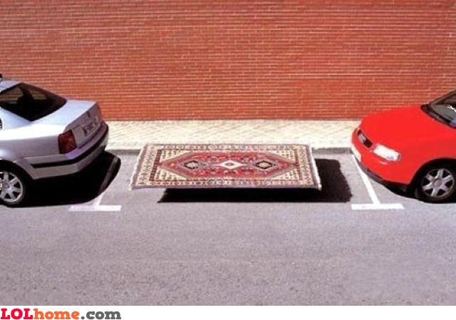 Parked carpet
