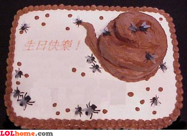 Shitty cake