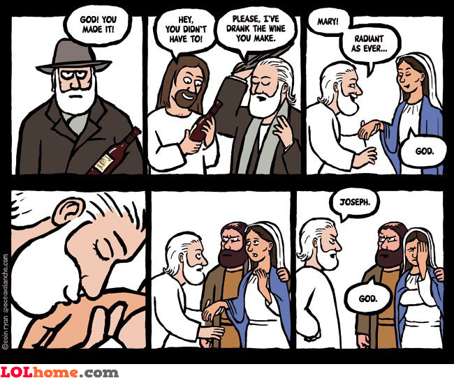 God and Joseph meet again