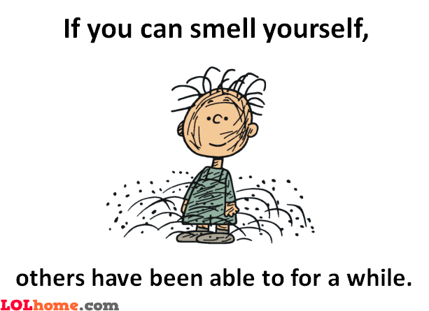 Do you smell yourself?