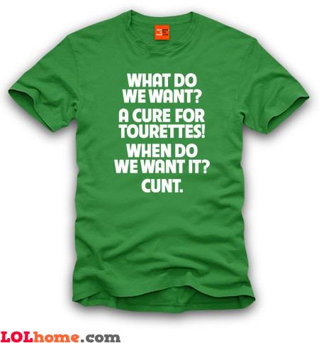 Cure for Tourettes