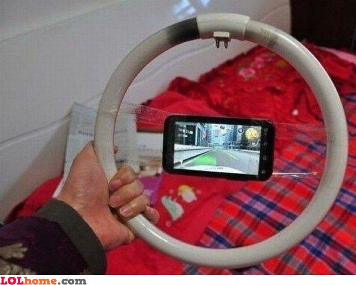 Smartphone steering