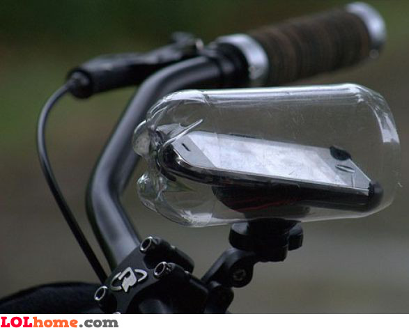 Waterproof bike dock