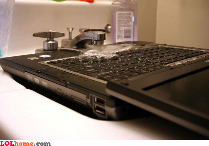 Laptop cleaning tutorial