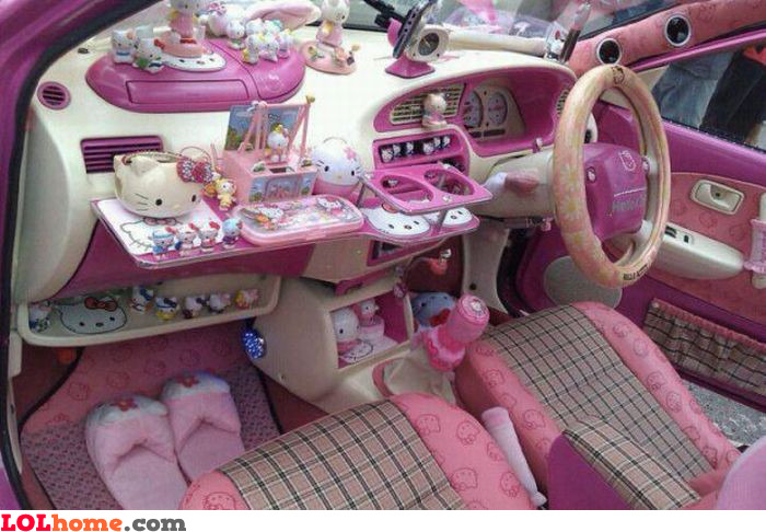 Gayest car ever funny pic for Deco interieur voiture