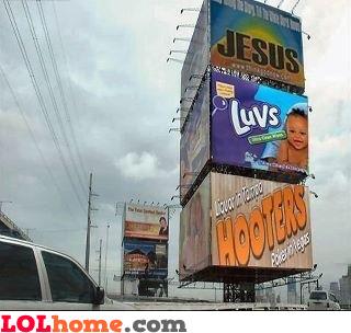 Jesus luvs hooters