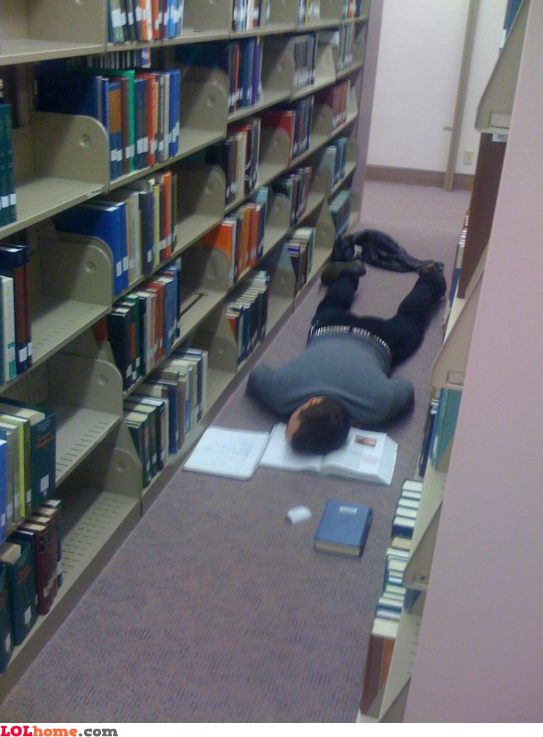 Study too hard