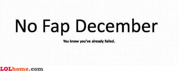 No Fap December