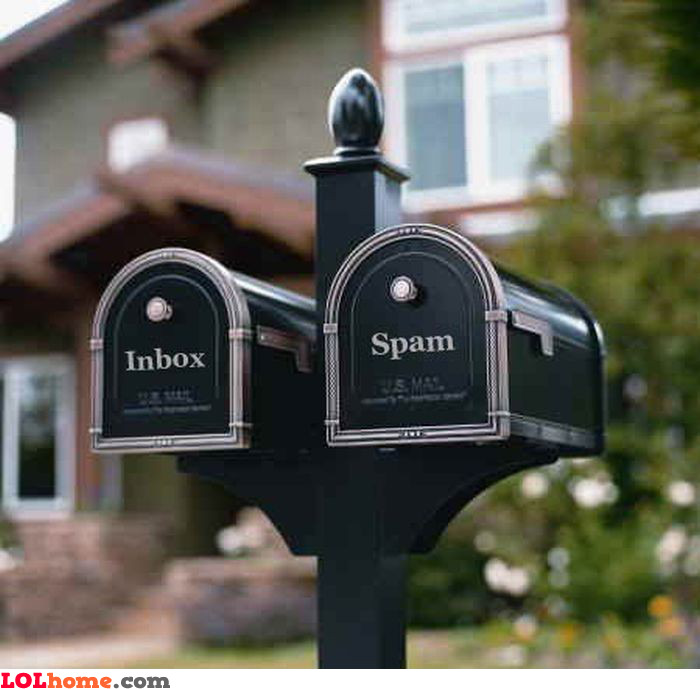 Inbox and spam