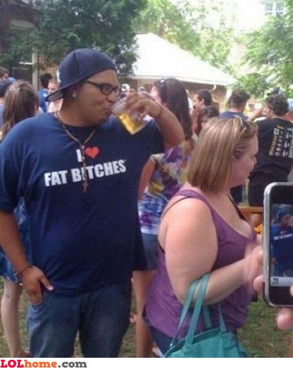 I love fat bitches