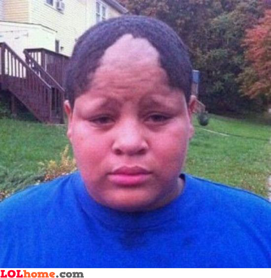 Bad haircut