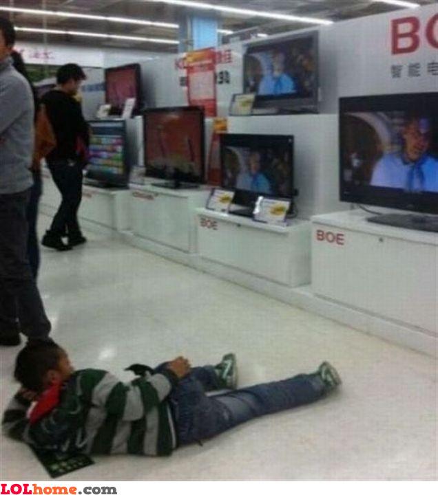 Testing TVs