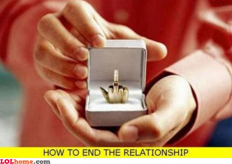 Relationship ender