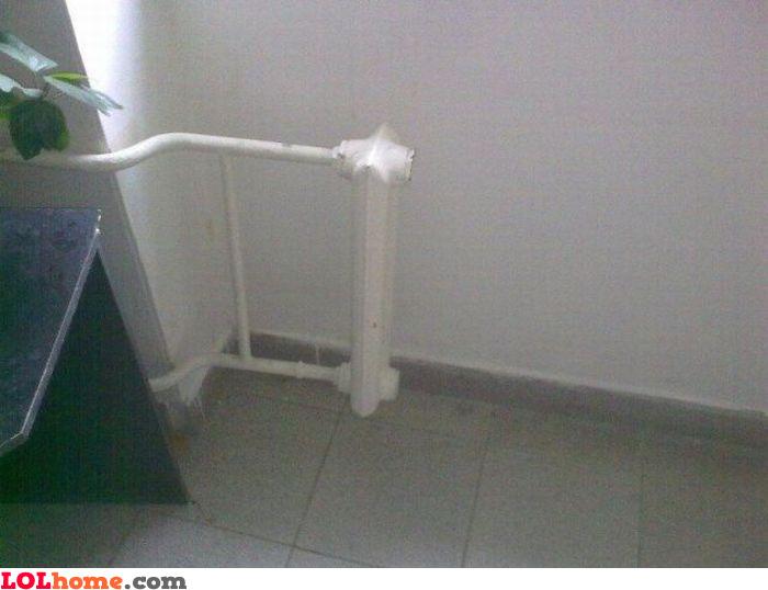Tiny radiator