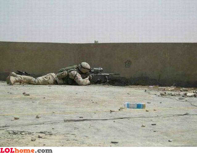 Wall shooting