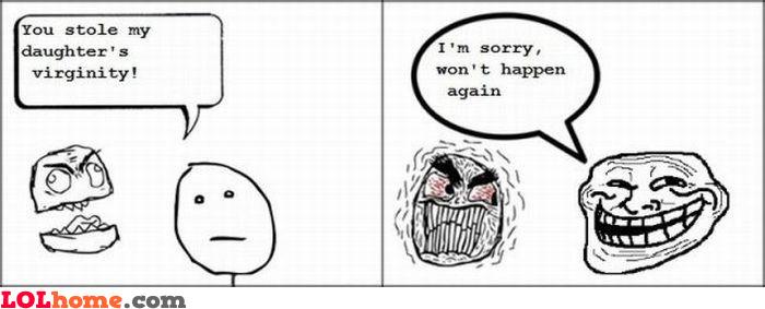 Won't happen again