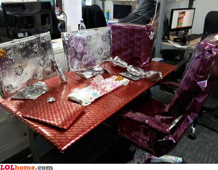 Christmas prank