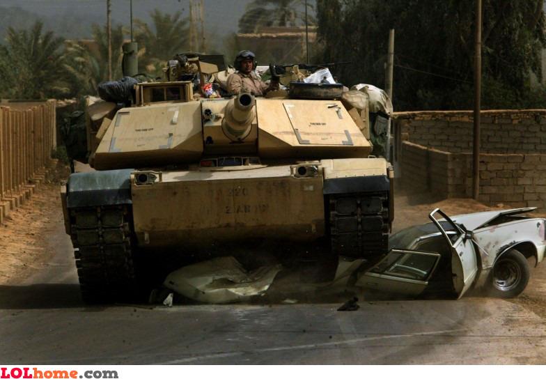 Respect the tanks