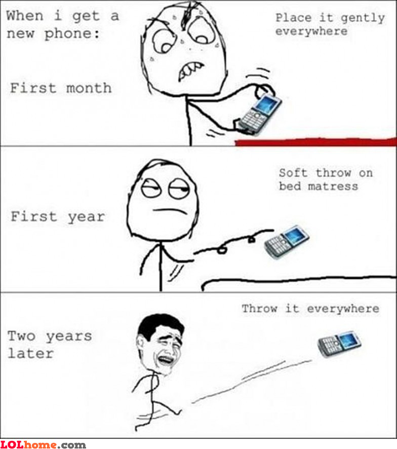 When I get a new phone