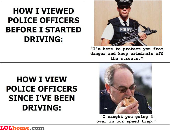 How I view police officers