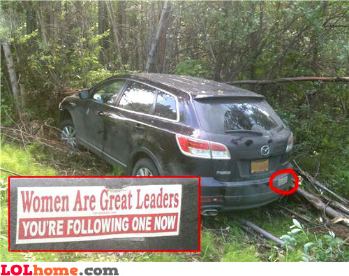 Women are great drivers
