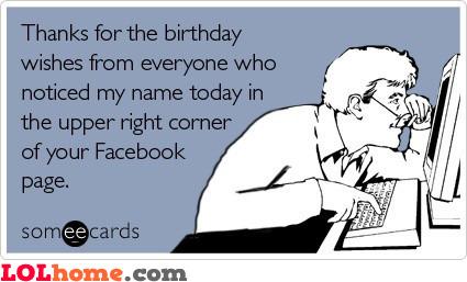 Birthday Thanks Funny Pic Thanks For Wishing Me Happy Birthday