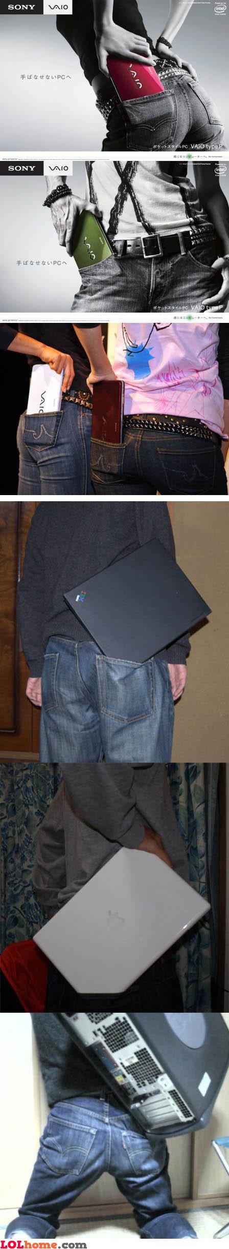 Laptop in my pocket
