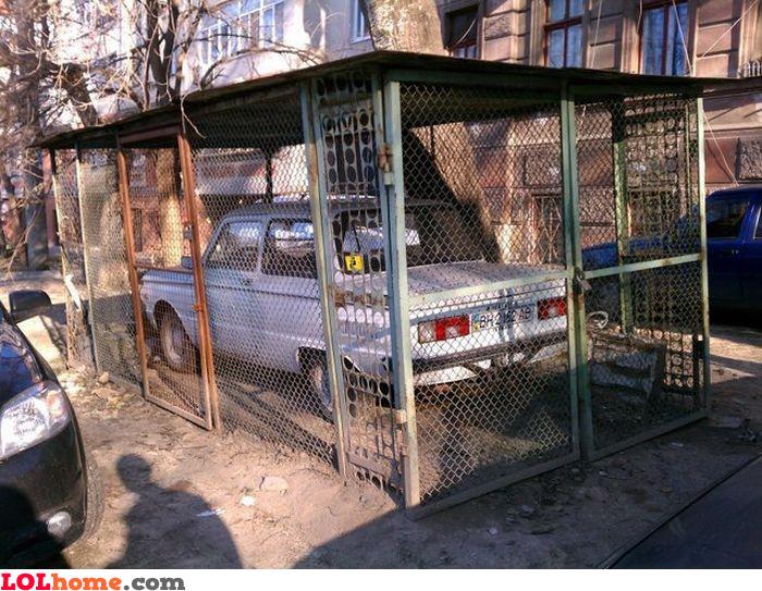 DIY garage