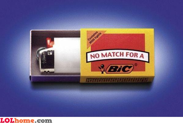 bic matches