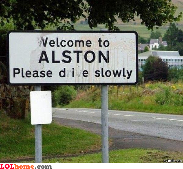 Welcome to Alston