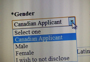 Canadian, a different gender
