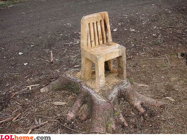 The living chair