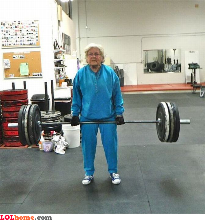Strong granny