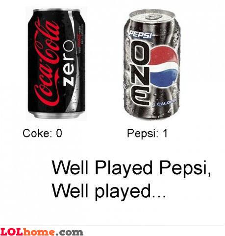 Pepsi scores