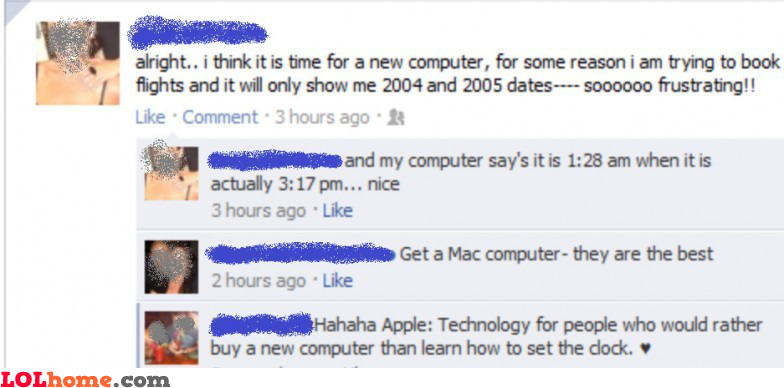 Buy a new computer