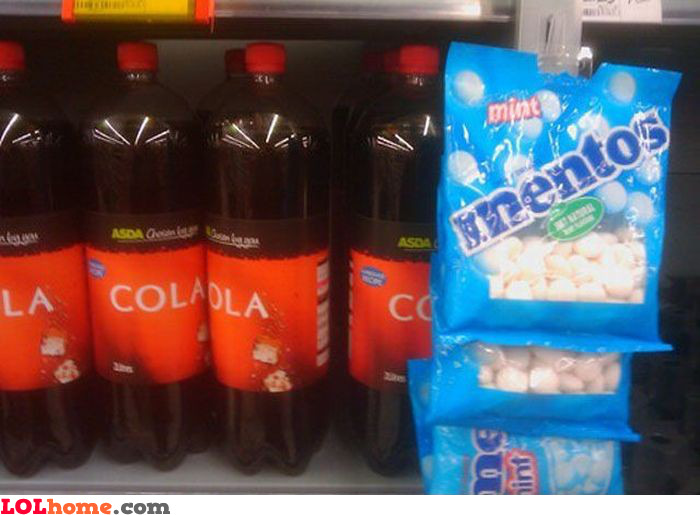 Mentos and Cola