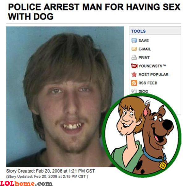 Shaggy did it