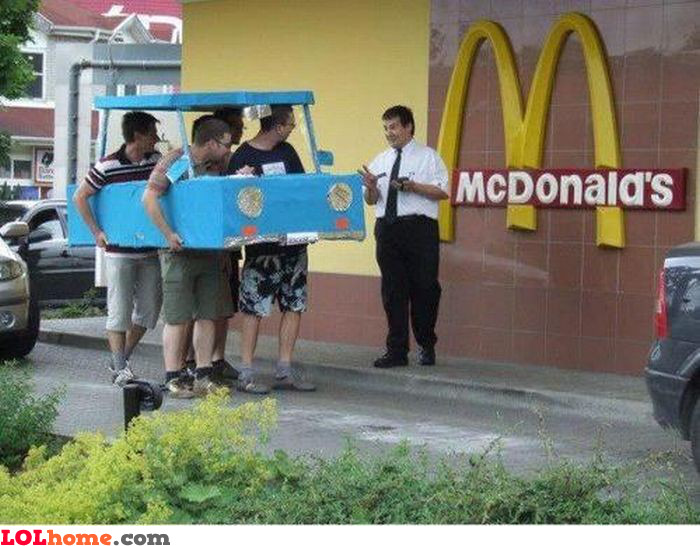 Going to McDrive