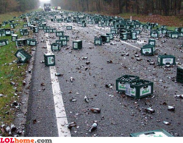 waste of beer