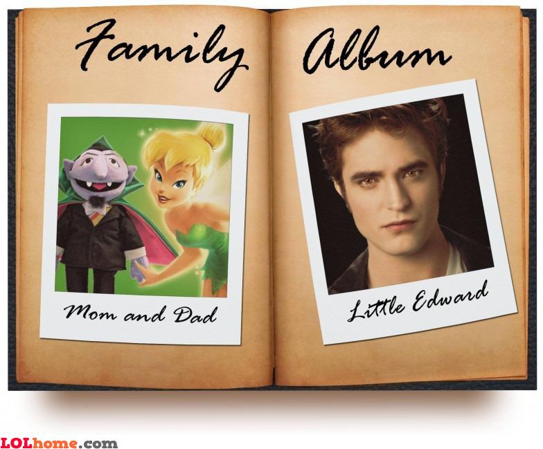 Cullen Family Photo Album