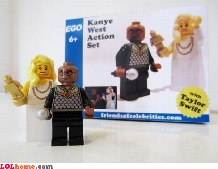 Kanye West action set