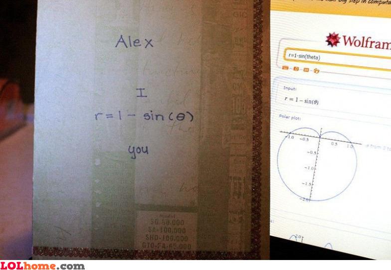 Geeky Valentine's card