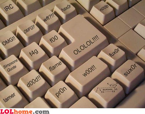 weird keyboard