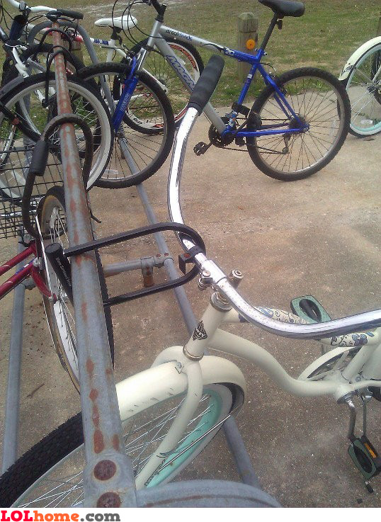 Nobody will steal this bike