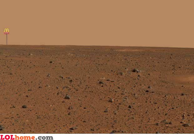 First pic on Mars