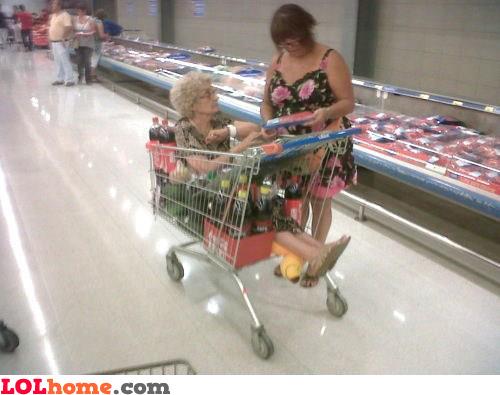 Grandma, yeeeepeey!