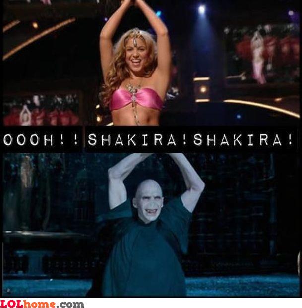 Shakiraa Shakiraaa!
