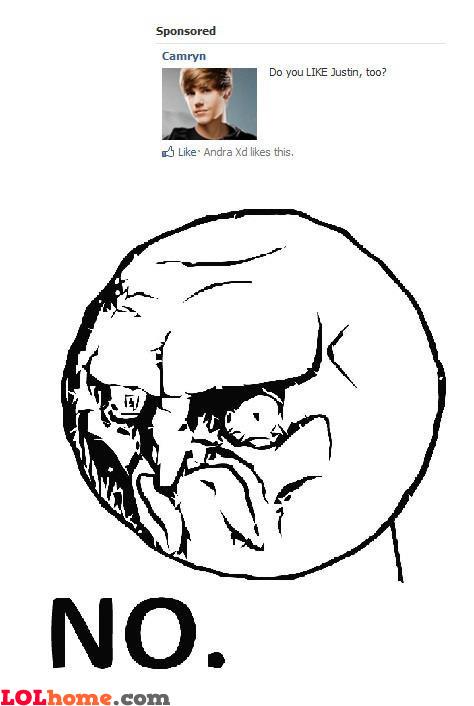Nobody likes Justin
