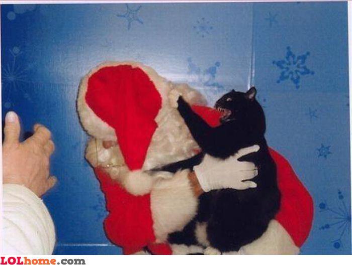 Watch out, Santa!