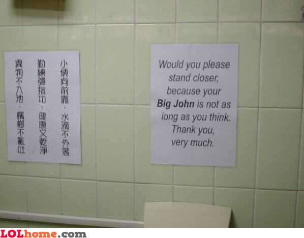stand closer